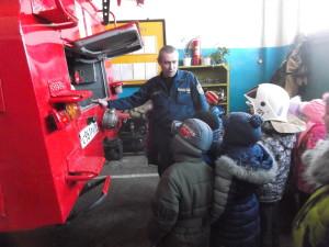 экскурсия в пожарную часть1