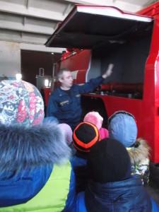 экскурсия в пожарную часть2