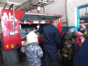 экскурсия в пожарную часть4